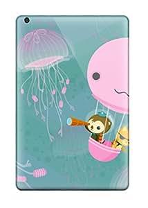 Cute High Quality Ipad Mini/mini 2 Jellyfish Adventure Case
