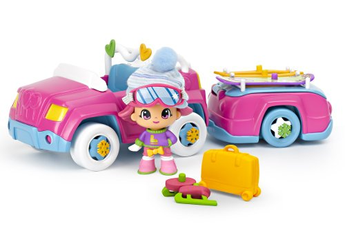 Pinypon Snow Car and Tow Doll, Baby & Kids Zone