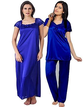 e24cc103f6 Satin Plain Night Dress