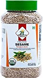 24 Mantra Organic Sesame Seeds - 12 oz jar (USDA CERTIFIED ORGANIC)