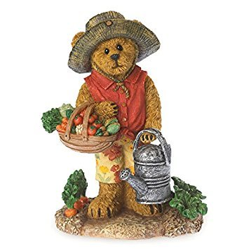 Boyds Bears Gardening Bearstone - Kirstie Tillington - Summer