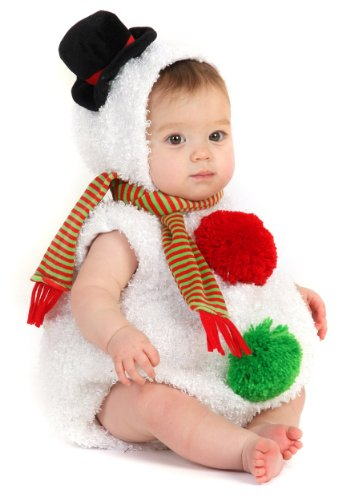 Winter Costume King (Unisex Baby Snowman Bubble Body Costume 18)