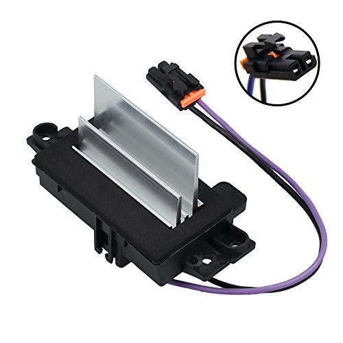 Upgraded Design Heating and Air Conditioning Blower Motor Resistor AC Blower Control Module for Buick Cadillac Chevy GMC Oldsmobile # 4P1516 MT1805 RU-631RU-631 JA1639 - Motor 2003