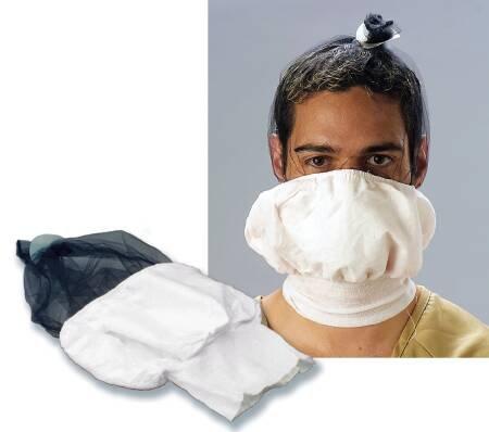 Restraint Humane - Humane Restraint Spit Protection Hood One Size Fits Most Slip-On