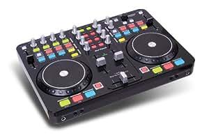 DJ-Tech I-Mix Actualizar USB-DJ-Mixer/Controller MKII con una tarjeta de sonido (cable USB, cable RCA estéreo y software Deckadance)