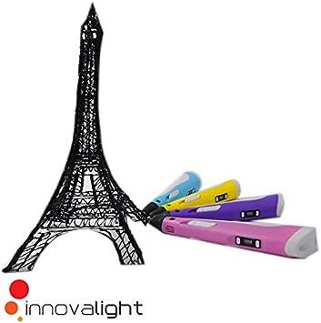 3D Pen Bolígrafo Pluma de Impresión Estereoscópica Con la pantalla ...
