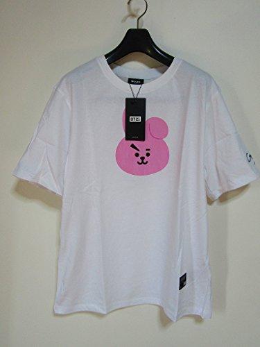 BTS 防弾少年団 BT21 FACE GRAPHIC Tシャツ COOKY ジョングク JUNGKOOK サイズ:S