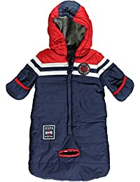 a7afd4ee7 U.S. Polo Association Baby Boys' Tape Pram Bag Snowsuit