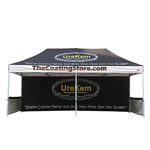 (ABCCANOPY Pro-40 Custom Trade Show Tents 10x20 Portable Trade Show Booth w/Wheeled Bag Bouns 6X Weight Bag)