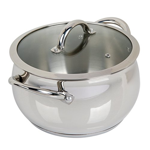 Oster 89463.02 Derrick Stainless Steel Dutch Oven, 6 Quart, Dutch Oven