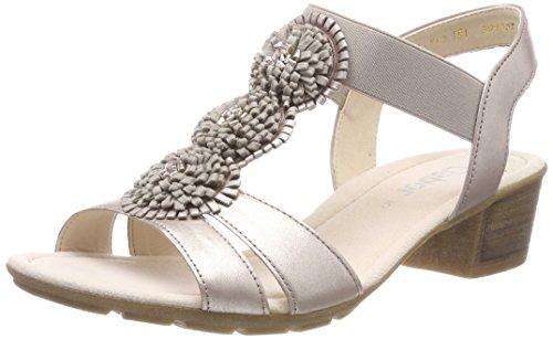 Casual Beige Pulsera Shoes Muschel Mujer Gabor Sandalia con Visone para q4yWg5a