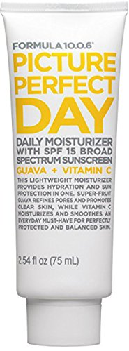 Formula Ten O Six Picture Perfect Day Moisturizer with SPF 15 Guava + Vitamin C 75 Ml (2.54 Fl Oz) (Best Face Forward Face Wash)