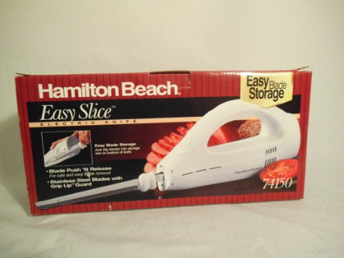 Easy Slice Electric Knife (white) by Hamiton Beach/Proctor Silex