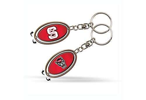 NCAA North Carolina State Wolfpack Spinner (North Carolina State Wolfpack Keychain)