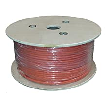Sunnytech 500ft CAT7 S-FTP Bulk Cable, AWG 23/1, Solid, Drum Pack, 1200Mhz, 10GBase-T data (w/20 cat7 plug Free)
