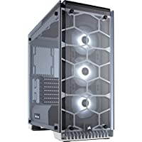Corsair Crystal 570X RGB ATX Mid Tower Computer Case Chassis and USB 3.0 (White)