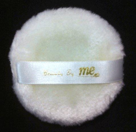 Polvo mullido Puff aplicador 3,75 pulgadas (95 mm) diámetro del cuerpo