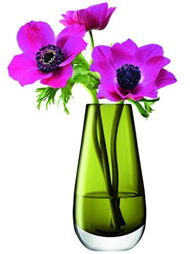 LSA International Flower Color Bud Vase, H5.5, Olive Green