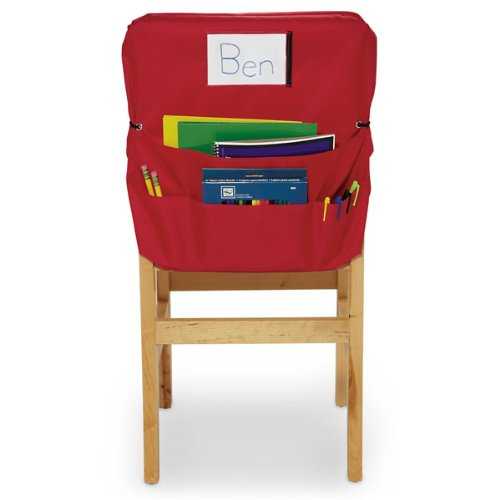 Nasco Polyester ChairMate, Large, 20'' x 17'', Red, Grades K - 5