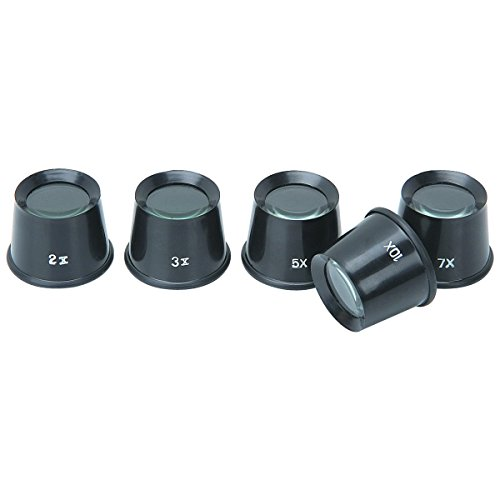 Central Purchasing 5 Piece Loupe Set