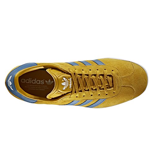 Adidas Gazzella J Rosa E Blu Lingerie. Scarpa Da Tennis Di Colore Giallo / Blu