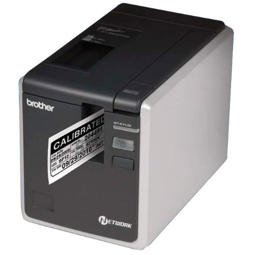 Brother Mobile PT9800PCN Series PT-9800 Desktop Barcode and Identification PRINTER, Network Version, Laminated, P-Touch Editor Software and Tape Included, Prints Label (Barcode Labeling Software)