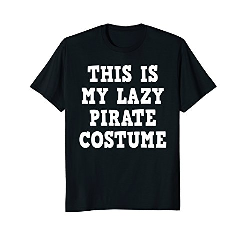 Mens This is My Pirate Costume Shirt for Men Women Kid Boys Girls Large (Simple Male Pirate Costume)