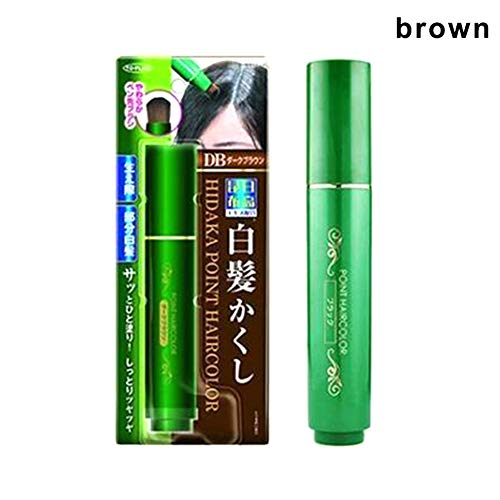 Adealink Natural Herb White Hair Cover Pen White Long-Lasting Black Brown Disposable Pen
