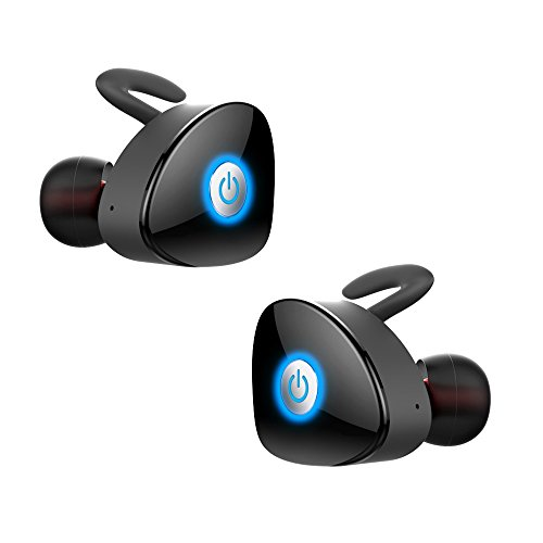 True Wireless Earbuds, FKANT Gemini Completely Wireless V4.1 Dual Mini Bluetooth Headphones Twin Stereo Sweatproof...