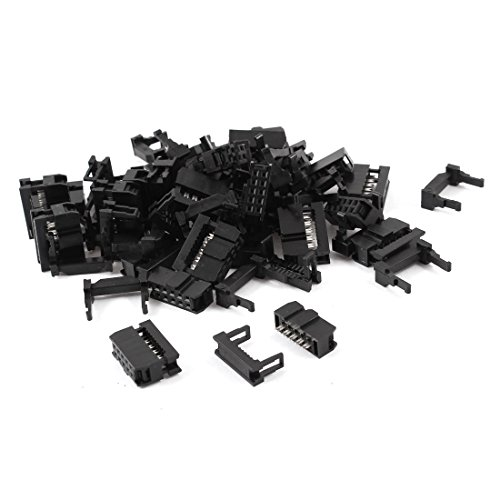 uxcell 25 Pcs IDC Cable Connector FC-10P 10Pin Female Header 2.54mm Pitch