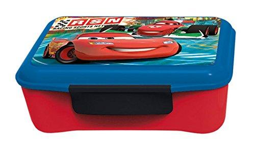 p:os 24466 - Brotdose Elite mit Trenner Disney Pixar Cars, 17 x 12.5 x 6.5 cm