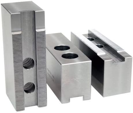 M3 Part 15600AFETH; Aluminum Soft Jaws for 1518 Chuck30mmx606250 L x 2500 W x 6000 H Groove Width 0866 22mmScrew Size 20mmHole Space 1969 50mmHole to Front 3187