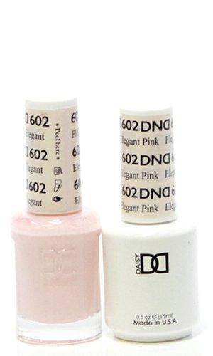 DND Gel Polish Elegant Pink 602