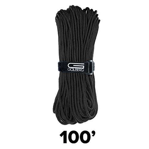 GOLBERG 550lb Parachute Cord Paracord - 100% Nylon USA Made Mil-Spec Type III Paracord - Used by The US Military - Multiple Colors & Lengths Available by GOLBERG G (Image #5)