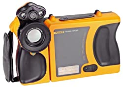 Fluke FLK-Ti55FT FlexCam Infrared Thermal Imager with IR-Fusion Technology, D F/W, 2% Accuracy, -4 to +1112 Degrees F Temperature Range