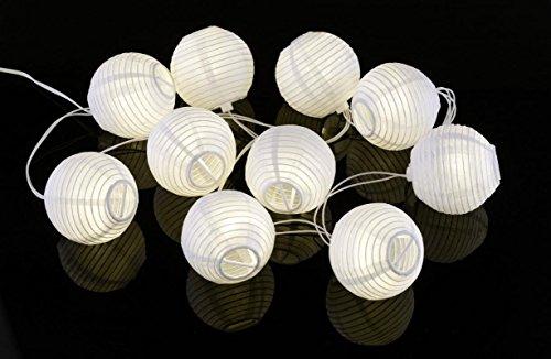 Oriental Globe Solar String Lights