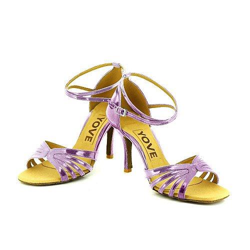 T La Mujer Púrpura púrpura de la Q Baile Zapatos T profesión de BnqBARZ