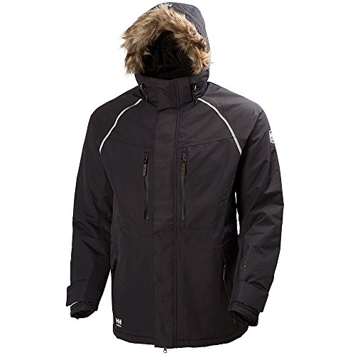 Helly Hansen 71336_990-L Arctic Winter Parka, Large, Black by Helly Hansen (Image #1)