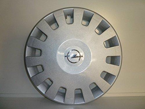 Set 4 Coppe Ruota Copricerchio Borchie Opel Corsa Confort r 14 (Logo Cromato) R.Vi.Autoforniture srl