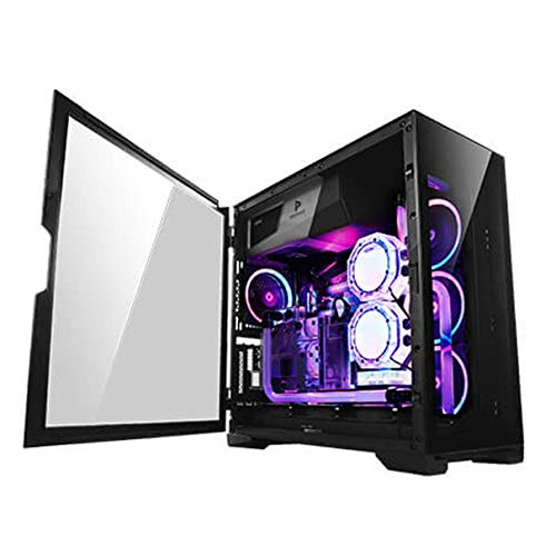 Antec Performance Series P120 Crystal Mid-Tower Case, Supports Up to E-ATX, Tempered Glass Front & Side Panels, Slide…