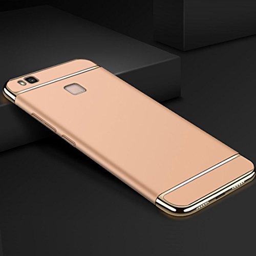 per P8 Lite Duro 2017 Gold Huawe Case Absorption Rigido Custodia Shock 1 P8 PC Sottile Gradi 2017 Cassa Ultra P8 Elegante Cover Lite 3 Lite in Custodia 2017 Huawei 360 e p4Adq4