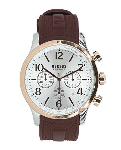 Versus by Versace Men's 'Naboo' Quartz Gold Fashion Watch(Model: VSPEC0618)
