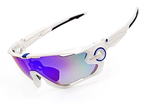 haloosport 2016 Newest Outdoor Sports Fashion Sunglasses Great For Cycling Driving Hiking Skiing or Fishing.Changeable Lenses and Unbreakable High - Sunglasses 2016 Hiking