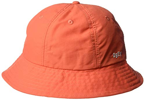Obey Men's Frederick Bucket HAT, Ember ONE Size