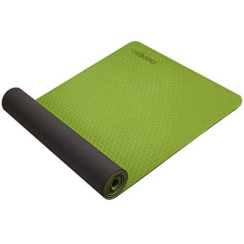 Yoga Mat Exercise Mat, Fitness Mat for Woman 6mm Non Slip Pro Workout Mat for Yoga Pilates