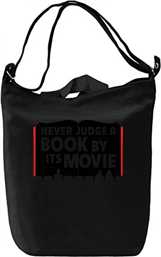 Never Judge A Book By Its Movie Borsa Giornaliera Canvas Canvas Day Bag| 100% Premium Cotton Canvas| DTG Printing|