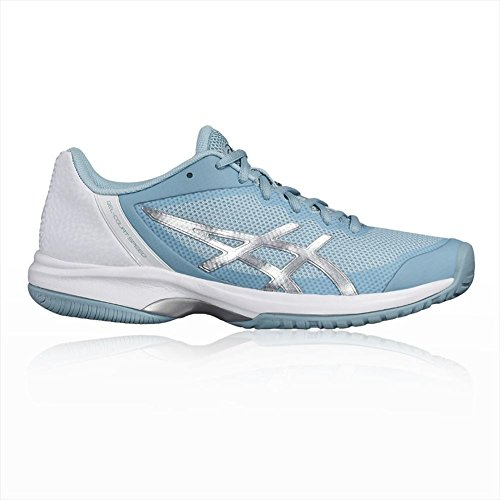 Asics Gel Court Speed Womens Tennis Shoes bleu glacial/argent/blanc