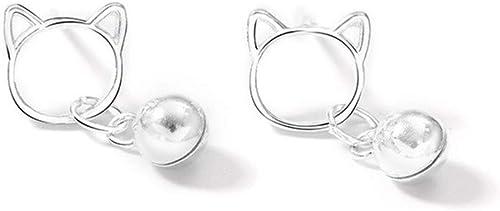 925 Sterling Silver Bell Stud Earrings