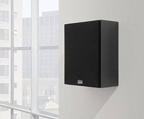 LYNGDORF MH-2 Audiophile wall-mountable 100-watt Satellite Speaker (Gloss-Black) by LYNGDORF