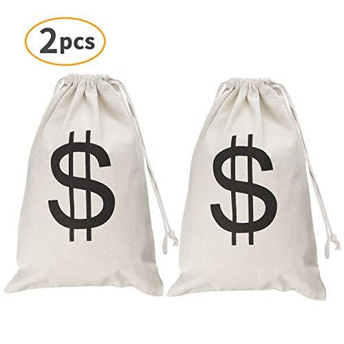 Winkeyes Large Prop Money Bag Costume 19.6